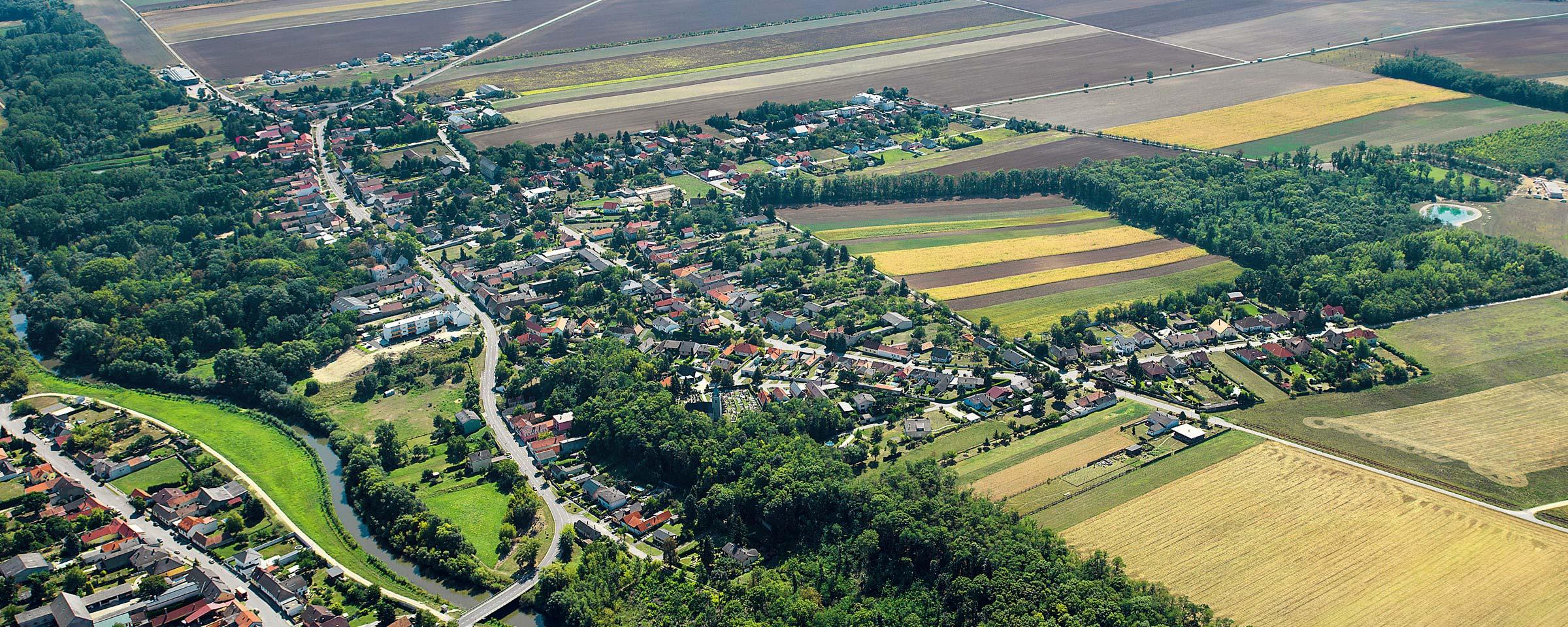 Landschaft Gemeinde Potzneusiedl